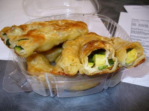 Ziba's Pita - Zuchinni