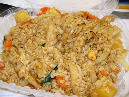 Vege Thai - Pineapple Fried Rice