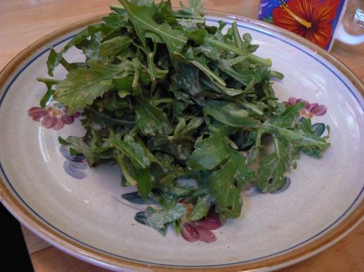 Nutshell - arugla salad