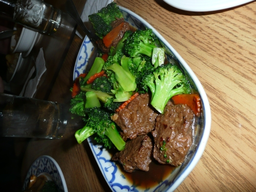 Vege Thai - Beef and Broc