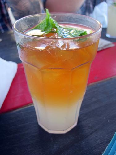 $2 half lemonade/half iced tea